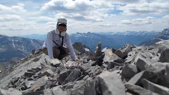 Me on the summit of Mt. Astley