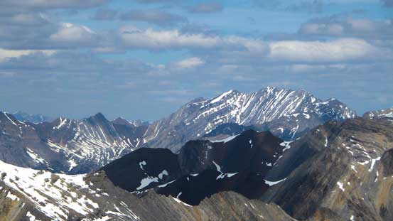 Puma Peak is a big mountain in the front ranges