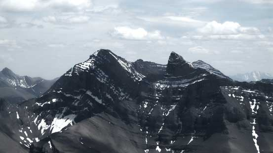 Mt. Girouard and Mt. Inglismaldie