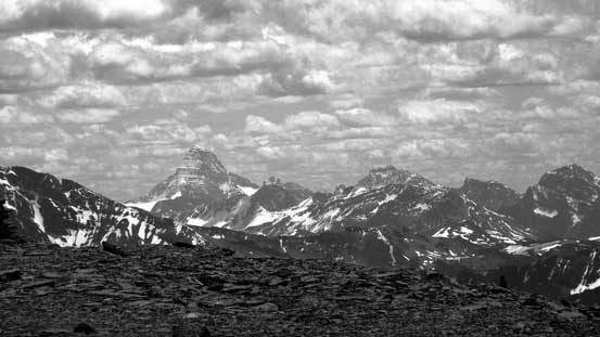 Mt. Assiniboine is always the eye-catching giant