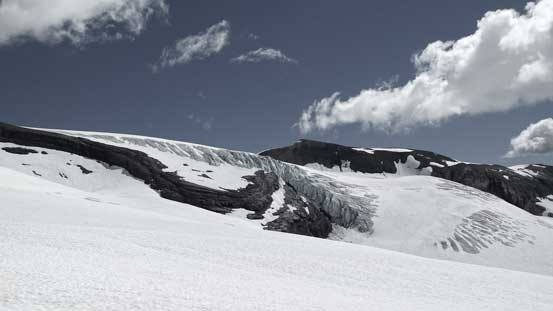 Scenery on Lyell Icefield