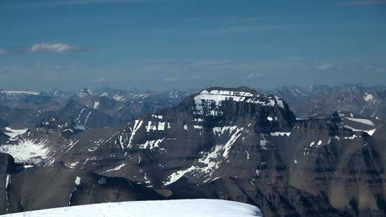 Mt. Saskatchewan - a near-11,000er. Have to go up there and check it out...