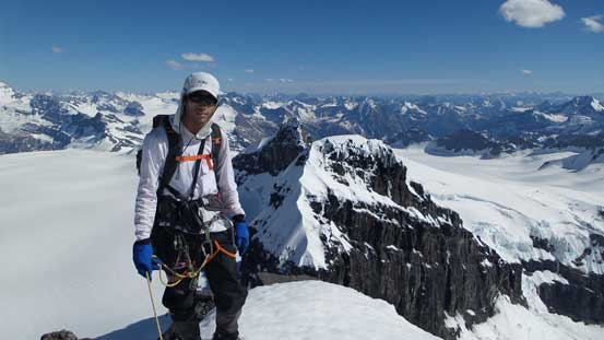 Me on the summit of Lyell III, my 29th 11,000er!!