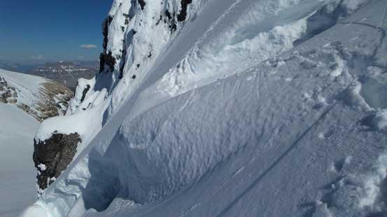 Oh here's that gigantic bergschrund