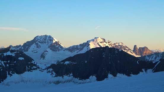 Rostrum Peak and Icefall Peak