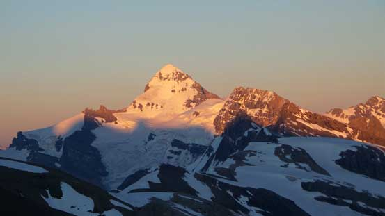 Mt. Forbes again, on evening glow