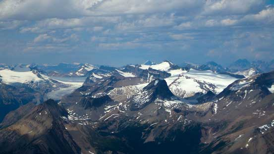 Mt. Balfour and the Wapta Icefields