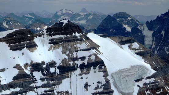 The lowly Glacier Peak is still 3200+ meters high