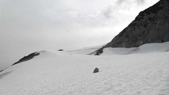Easily ascending Centaurus Glacier