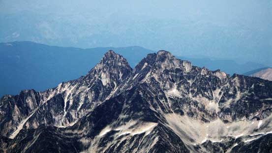 Donegal Peak and Connemara Peak. Both look fairly technical