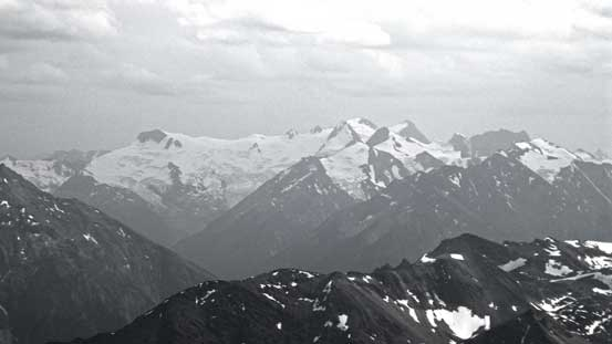 The Commander Glacier and Jumbo Mountain group