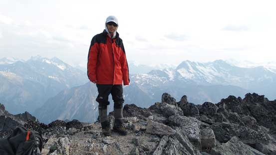 Me on the summit of Mt. Alpha Centauri