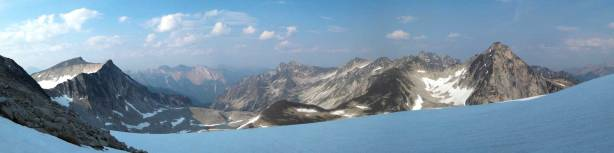 Another panorama view from the upper Centaurus Glacier
