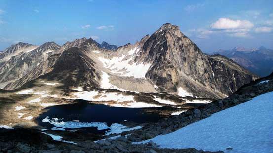 Gelway Peak looks impressive