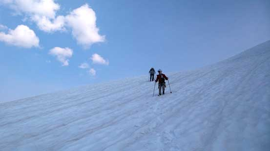Descending Centaurus Glacier