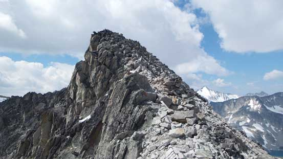 The last bit to the summit