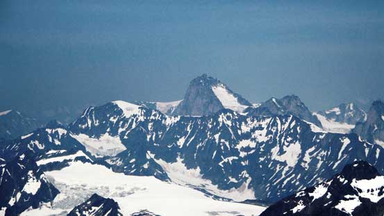 Howser Spire is the highest in the Bugaboos.