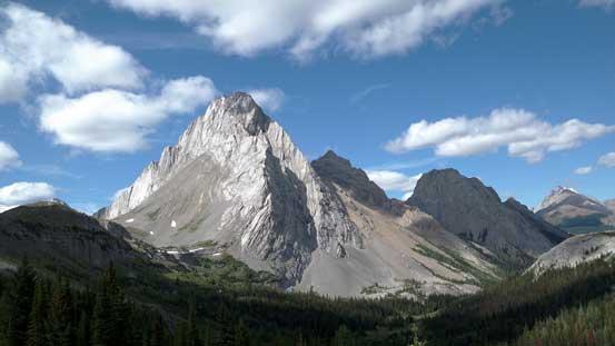 The very impressive Mt. Birdwood