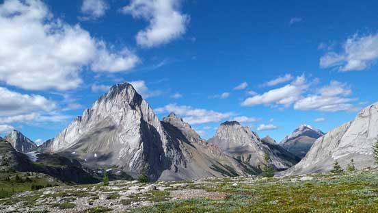Looking back towards Mt. Birdwood