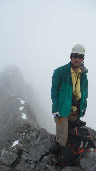 Me on the summit of Mt. Sir Douglas, my 35th 11,000er!