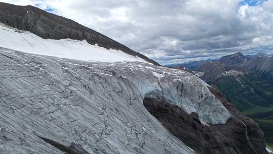 Oh the glacier...