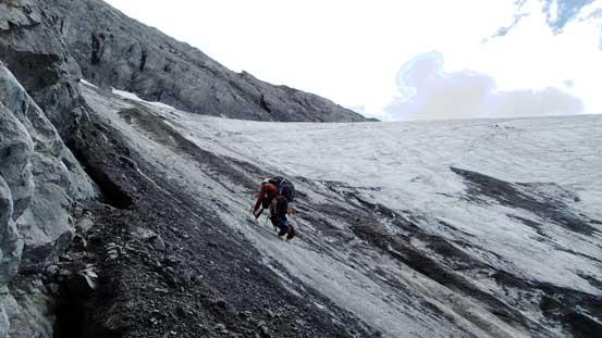 More down-climbing