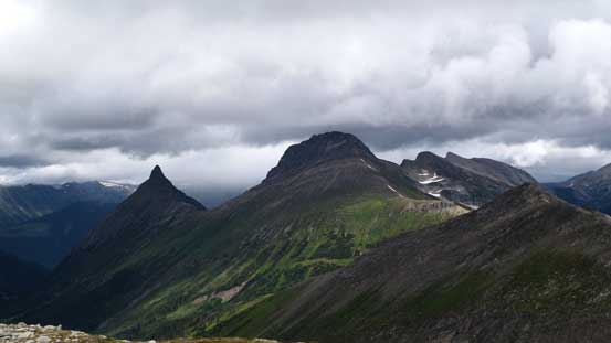 Congregational Peak and The Blackwater Tusk