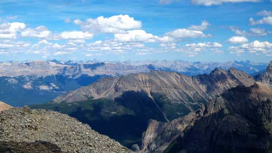 In the foreground is another Kane's scramble - Panorama Ridge