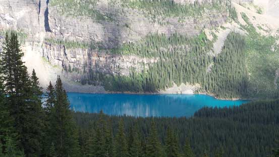 I like the colour of Moraine Lake