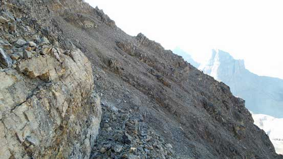 Typical terrain on the ledges