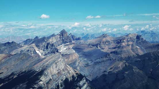 Mt. Cline, Lion Peak and Lioness Peak. Bagged them all