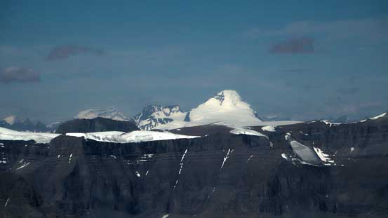 """The """"mighty C"""" - Mt. Columbia. Ascended in April this year"""