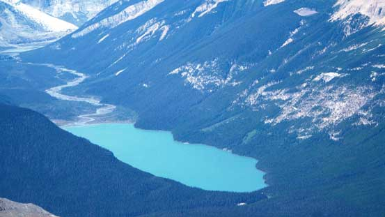 Glacier Lake is where you access Mt. Forbes