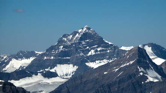 The mighty Mt. Forbes appears huge from everywhere. Bagged it in early June