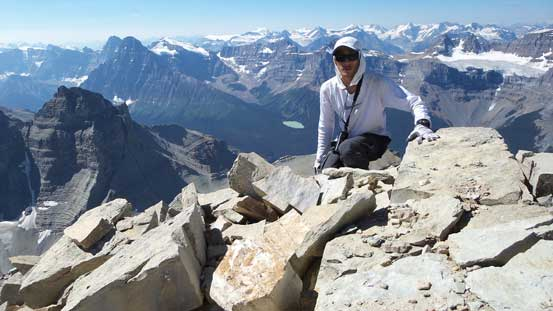 Me on the summit of Mt. Murchison