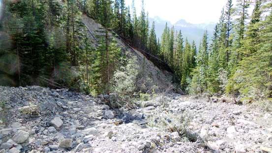 The creek bed walk