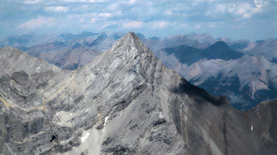 Wind Mountain is also known as Lougheed IV