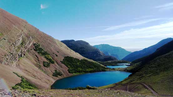 The beautiful Carthew Lakes