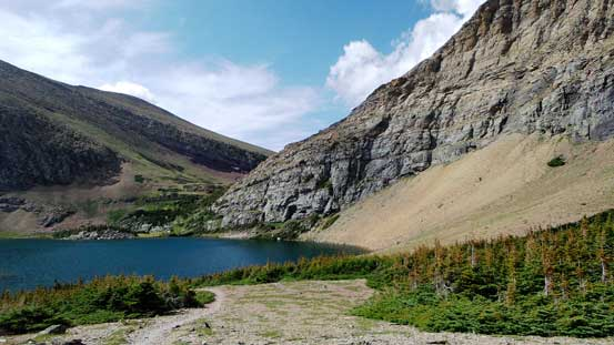Another look at the lower Carthew Lake