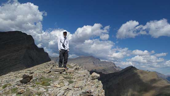 Me on the official summit of Buchanan Peak
