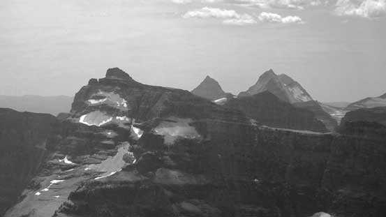 Mt. Custer with Numa Peak and Mt. Peabody behind