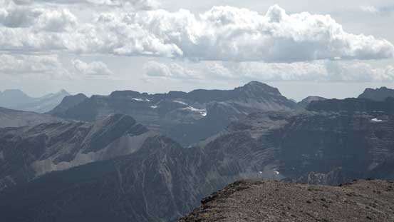 Porcupine Ridge another peak in GNP, MT