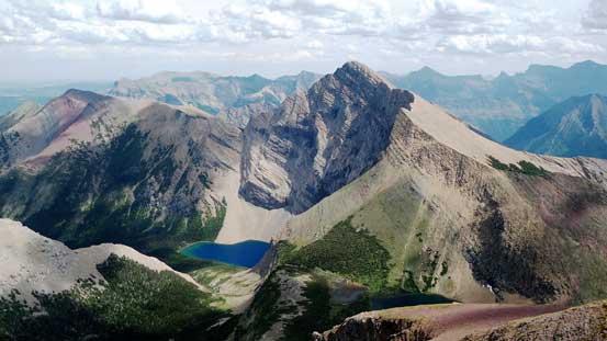 Mt. Alderson and Alderson Lake