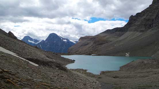 Looking back towards the upper Totem Lake