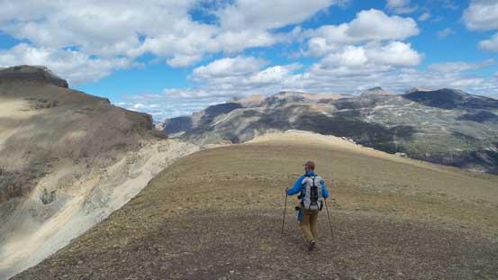 Vern and the ridge