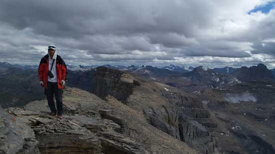 Me on the summit of Corona Ridge
