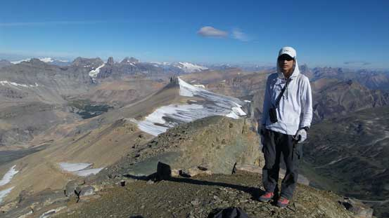 Me on the summit of Marmota Peak
