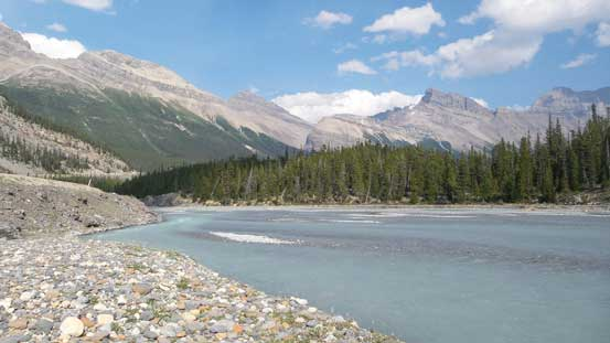The N. Saskatchewan River from Big Bend.