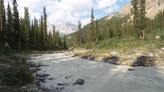 The same river/creek.