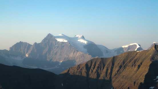 The three peaks on Mt. Lyell
